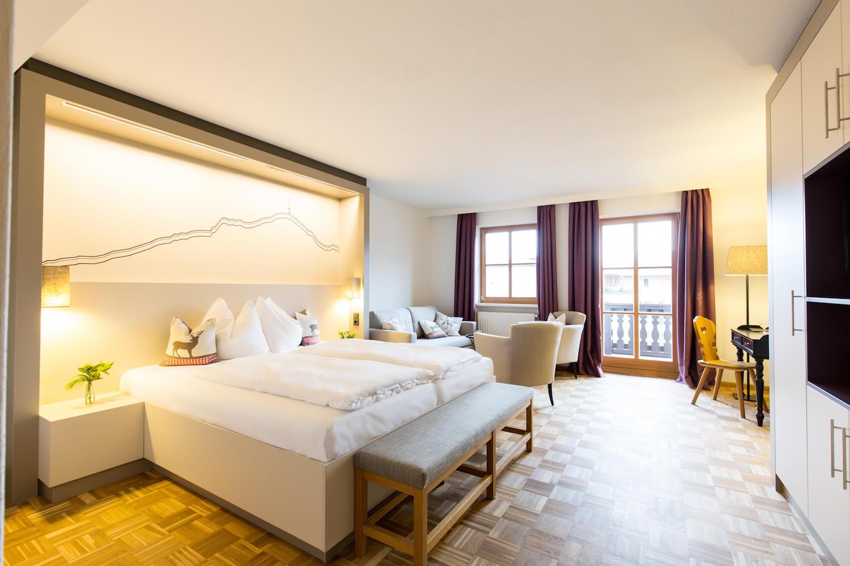 Doppelzimmer Deluxe – Rössl-Zimmer im Hotel & Wirtshaus Post