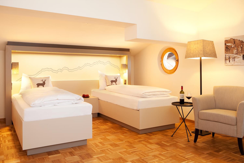 Twinbettzimmer – Kutscher Twin im Hotel & Wirtshaus Post
